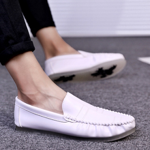 2018 man beanie shoe man han edition individual character joker casual shoe trend England breathable lazy person white shoe 5 rick steves england eighth edition
