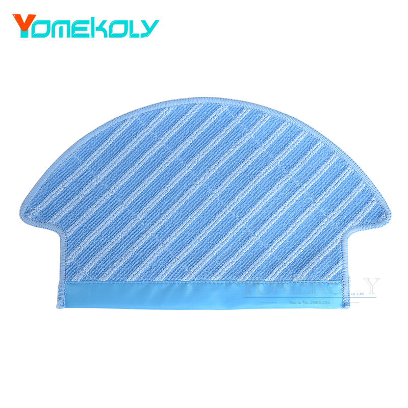 Vacuum Cleaner Spare Part Mopping Cloth Pad for Ecovacs Deebot DJ35 Robot Vacuum Floor Cleaning Replacement Accessories купальник раздельный полосатый цветной in extenso