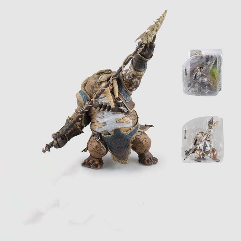 18cm WOW Figure Toy DC Tuskarr/ Seiuchin Mages PVC Action Figure Classic Toy For Boys Collection Model gift the flash man action figure kid toys pvc collection model toy gift for children 18cm