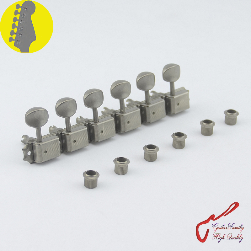 Original Genuine 6 In-line GOTOH SD91-05M Relic Kluson Vintage  Guitar Machine Heads Tuners (Aged Nickel) MADE IN JAPAN 1 set guitarfamily 6 in line kluson vintage guitar machine heads tuners nickel made in korea
