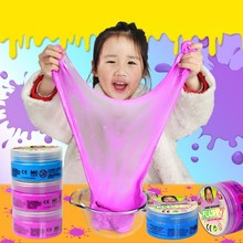 Slime Modeling Clay Smart Gift DIY Fluffy Foam Toys Dynamic Creative Anti Stress Handprint Footprint Imprint Kit DIY Toy Hand(China)