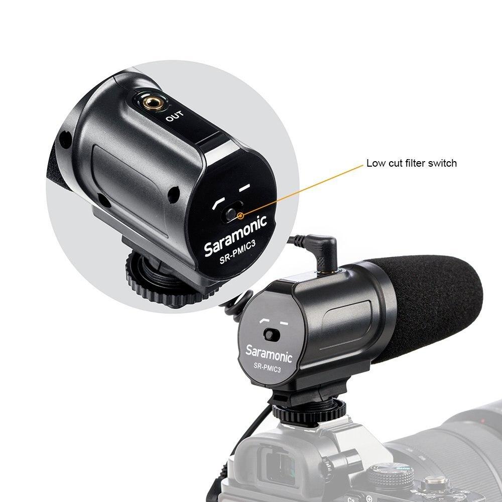 Saramonic SR-PMIC3 mikrofon za prostorsko snemanje z integriranim - Prenosni avdio in video - Fotografija 2