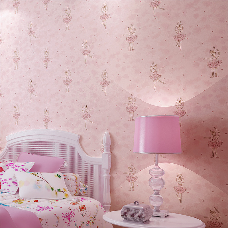 A girl Wallpaper living room 3d Stereo Self adhesive Wallpaper Mural ...