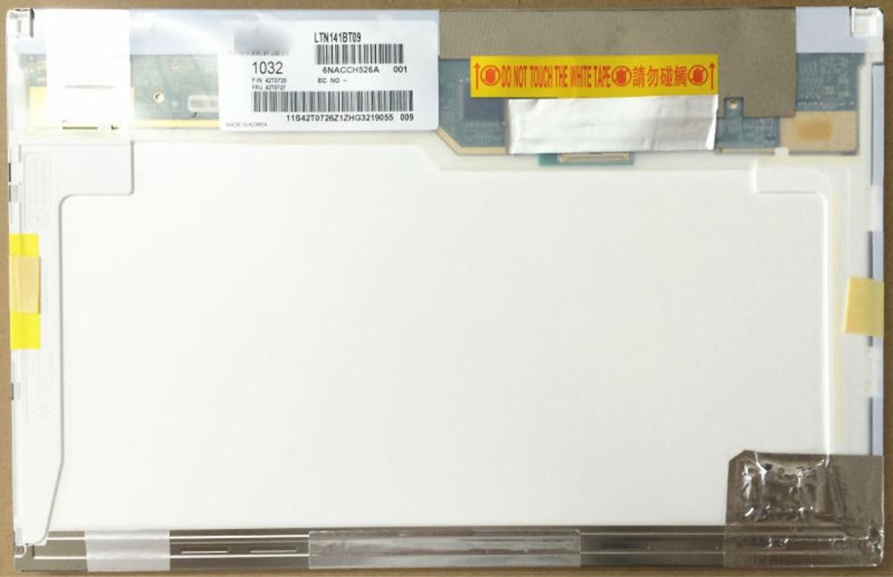 Quying  LTN141AT15 001 LP141WX5 TLP3 N141I6-L03 B141EW05 V.4 14.1 WXGA LED Screen For Lenovo ThinkPad E46L E46A T410 phil collins singles 4 lp