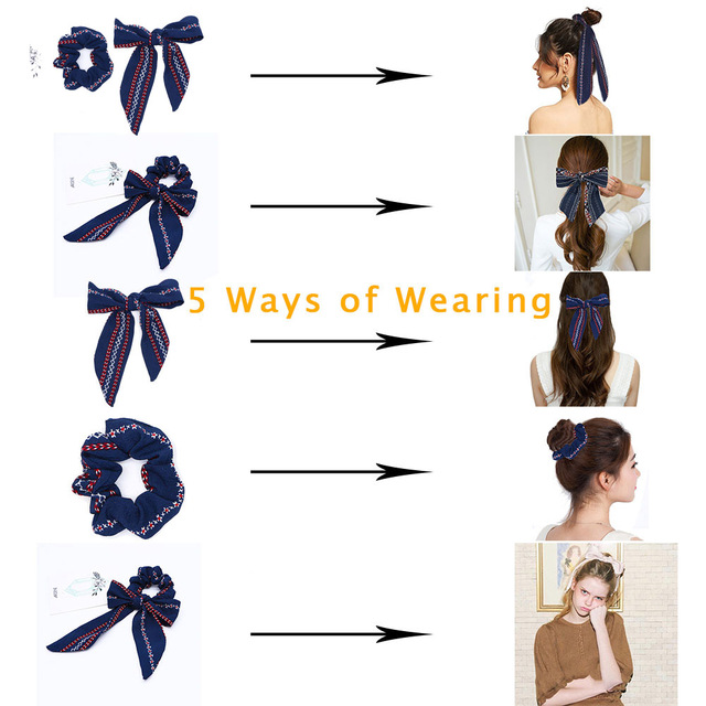 Hair Bow Streamer