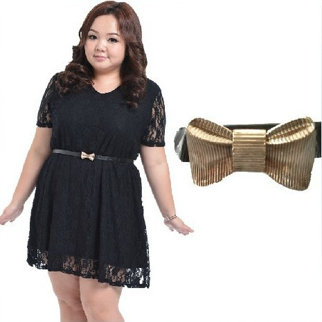 Xxxl Large Plus Size Narrow Belts Women Bow Waist Band Fo Women