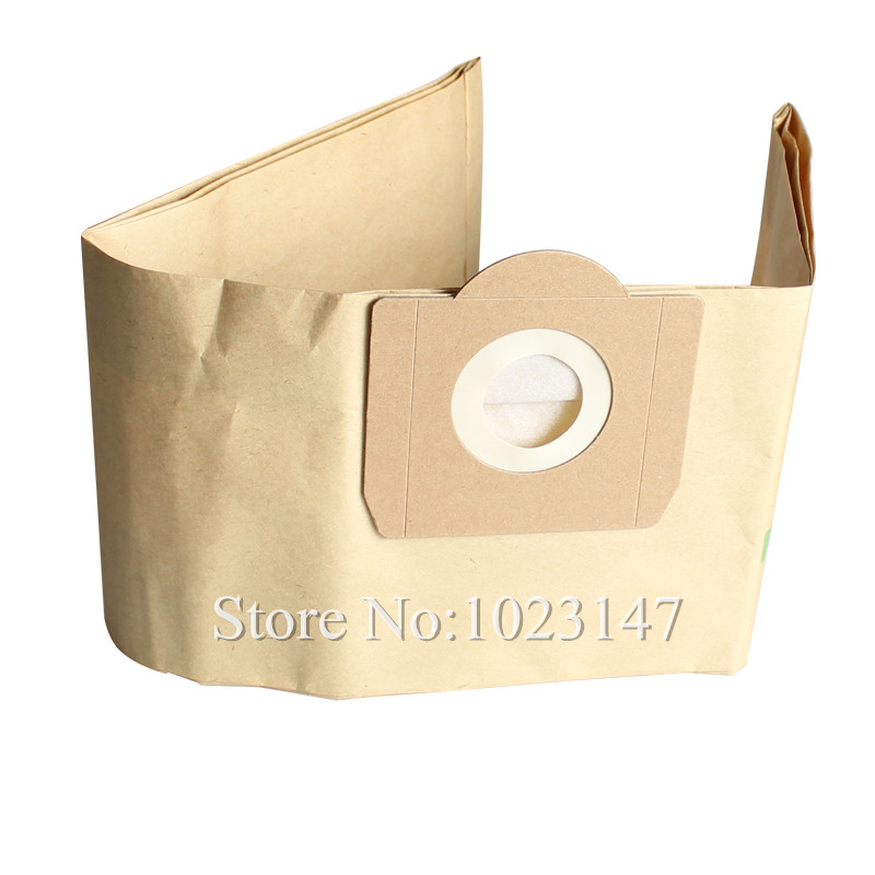 5 pieces/lot Vacuum Cleaner Dust Bags Filter Bag Vacuum Cleaner Bag For Karcher WD3.500 3.540 A2201 Super HR6651,Rowenta Bully