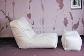 white bean bag sofa set with stool rest - living room waterproof beanbag home furniture set inflatable sofa bean bag sofa basketball sofa living room furniture lazy sofa home furniture bedroom furniture inflatable stool