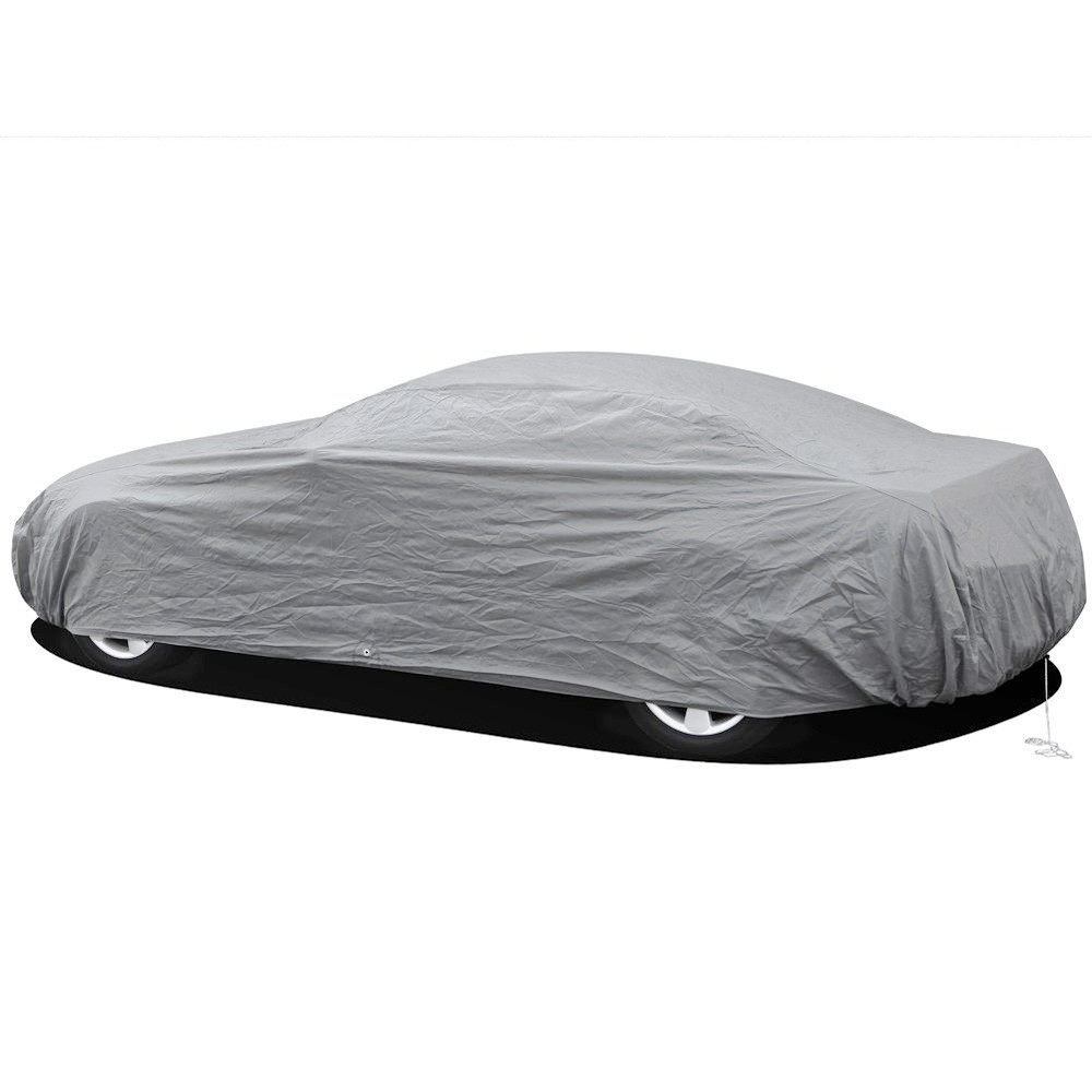 Image 4 - Single layer car clothing sunscreen dustproof waterproof full car cover sunscreen anti UV snow and rain protection new dfdf-in Car Covers from Automobiles & Motorcycles