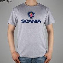Scania Saab Das Königreich Von Schweden Malmö t-shirt Top Lycra baumwolle Männer T-shirt Neue Design Hochwertige Digitale Inkjet druck