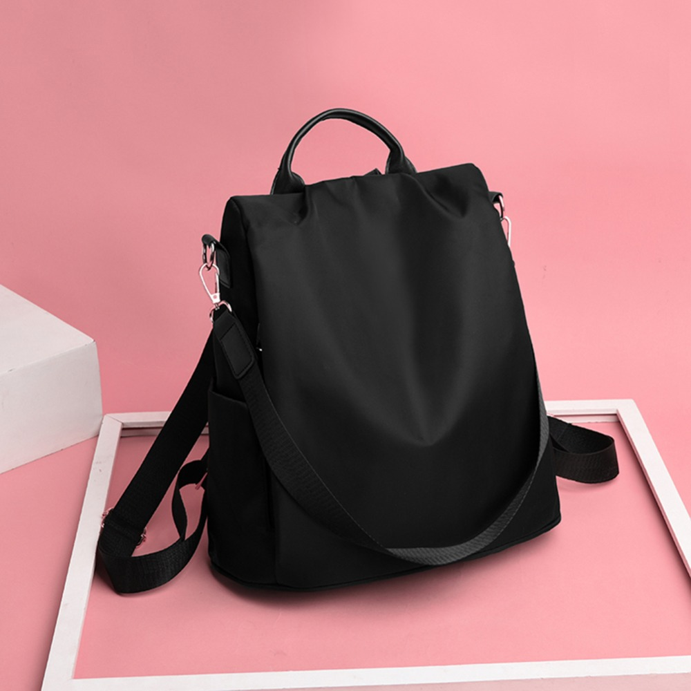 HTB1b2JsbBCw3KVjSZR0q6zcUpXaL Casual Oxford Cloth Women Backpack Anti Theft Girls Schoolbags Teenager Travel Daypack Shoulder Bag Colorful Fashion Back Pack