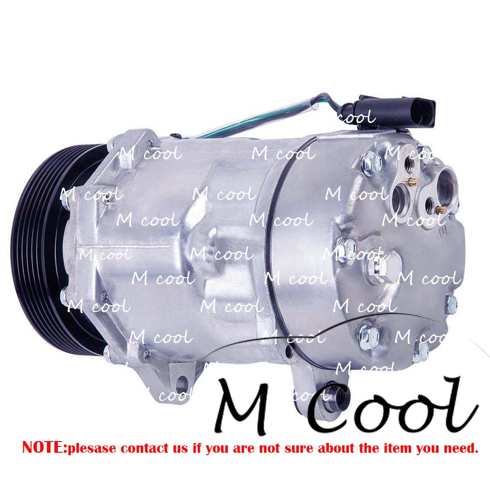 Фирменная Новинка Авто AC компрессор для автомобиля Audi A3 1.6L 1.8L 1.9L TT Quattro 1.8L 3.2L TT 1.8L 1 J0820803F 1J0820803K 1J0820803L