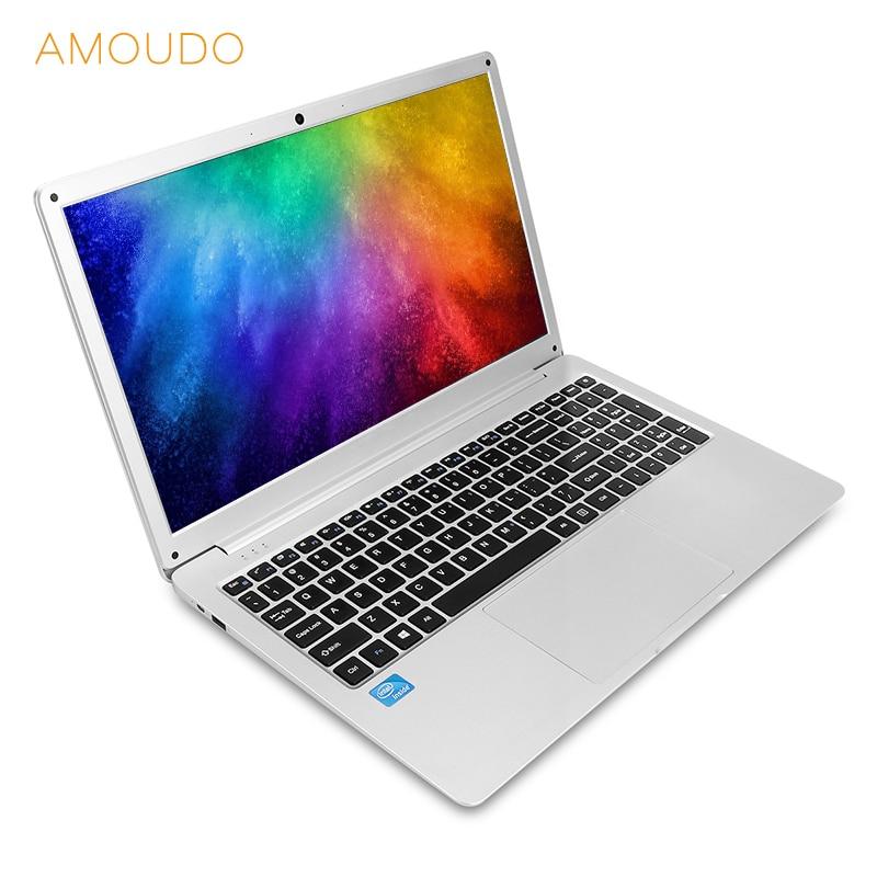 15,6 pulgadas 8 GB RAM + 360 GB SSD Intel lago Géminis N4100 Quad Core CPU sistema Windows 10 1920x1080 p FHD ordenador portátil,