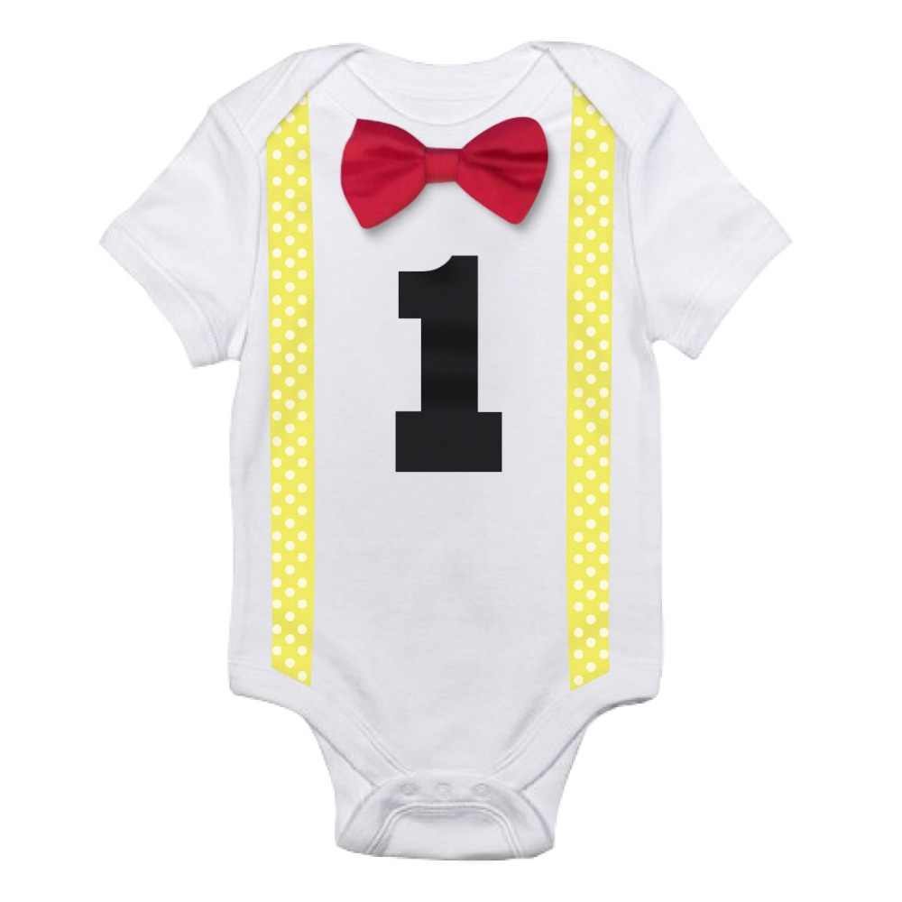 868eccb11bf ... Summer Gentleman Romper Newborn Baby Tie Bow Suspender Jumpsuits Bebes  White Clothes 2018 Baby Boys Rompers ...