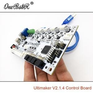 Image 4 - لوحة تحكم للطابعة, لوحة تحكم 2 Ultimaker V2.1.4 الأجيال الانتهاء من مجلس UM2 أجزاء طابعة ثلاثية الأبعاد إمدادات خاصة شحن مجاني