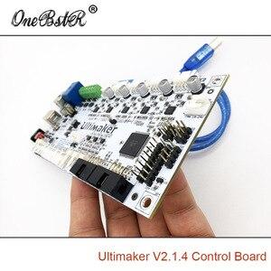 Image 4 - Generazioni della scheda di controllo Ultimaker 2 V2.1.4 scheda finita UM2 parti della stampante 3D fornitura speciale spedizione gratuita
