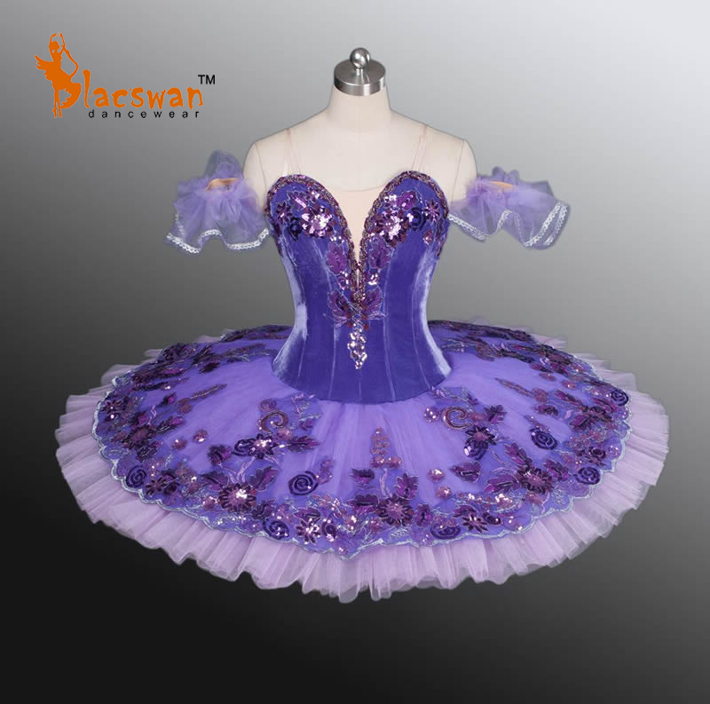 Purple Lilac Fairy Classical Ballet Tutu BT877 Professional Girls Adults - Guangzhou Blacswan Dance & Activewear Co., Ltd. store