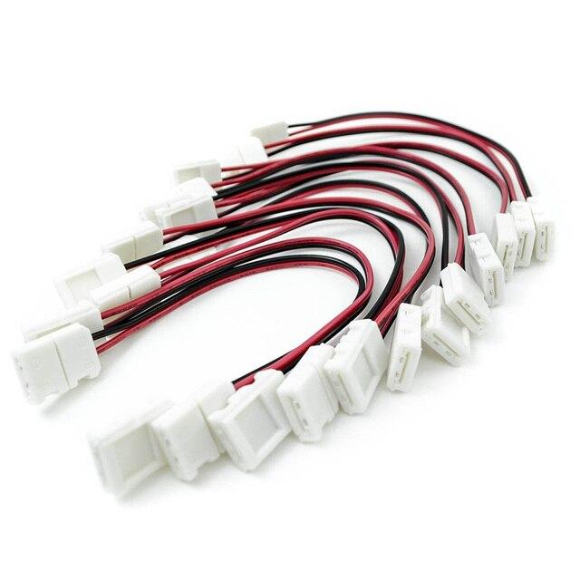 20 pcs led light strip connector 8mm single color 3528 6 inch any 20 pcs led light strip connector 8mm single color 3528 6 inch any angle strip aloadofball Image collections