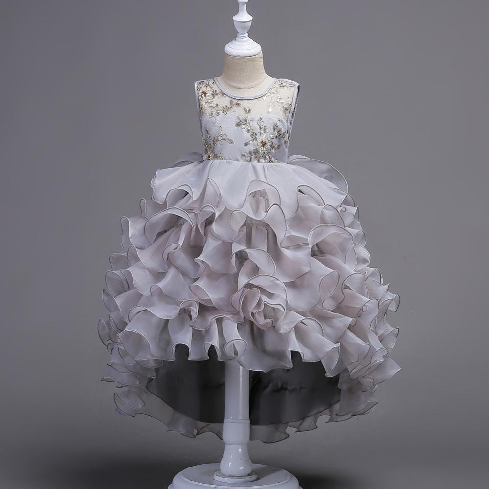 Fleur Filles Robe Adolescent Fille Fête D Anniversaire De Mariage