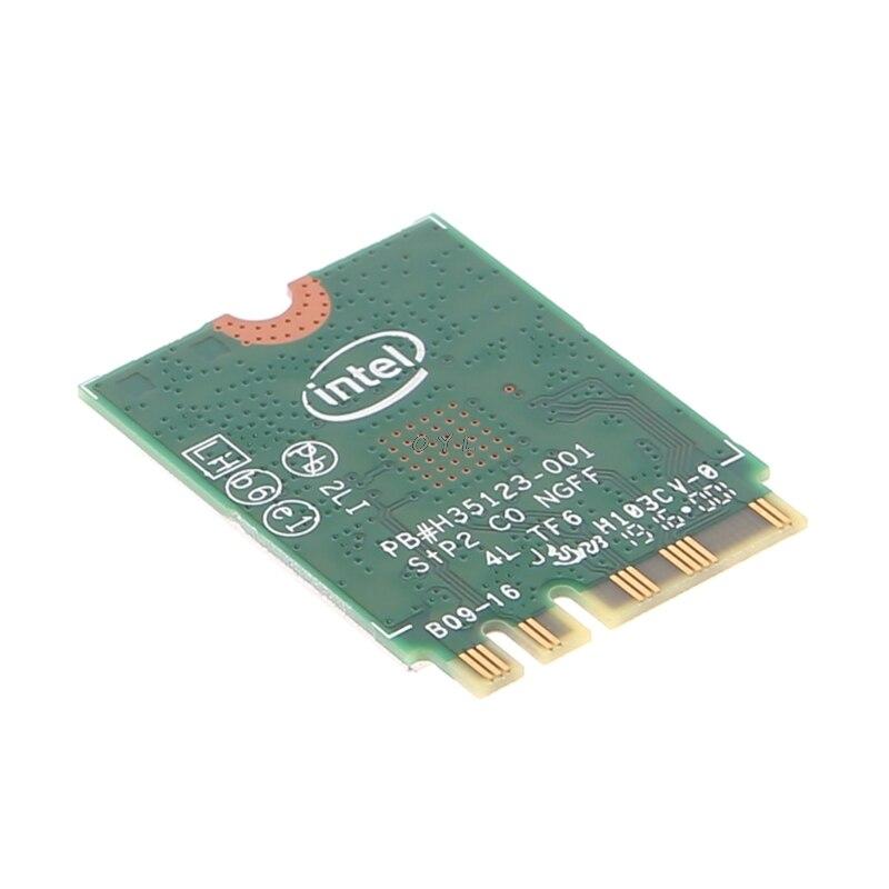 Intel Dual Band Bluetooth Wireless-AC 3165 BT4.0 2.4G/5G 433M Next Generation Form Factor NGW Net Card 4