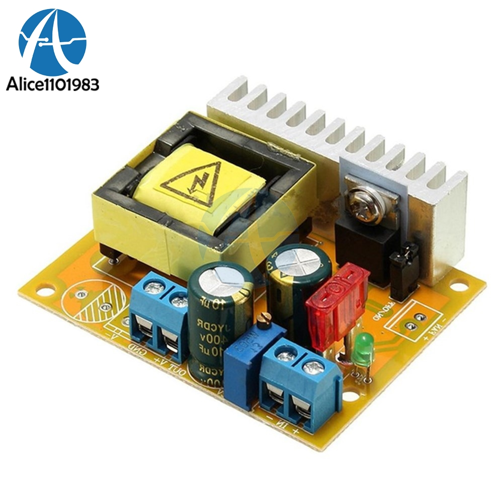 40W DC-DC Non-isolated Step Up Boost Board High Voltage Converter ZVS  Module Over Current Voltage Protection 8~32V to 45~390V