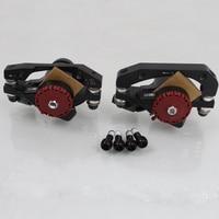 FETESNICE 2pcs Classic bicycle brake caliper bb5 bicycle disc brake kit for mtb bike disc brake bike parts