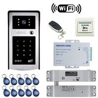 JEX HD Wifi Video Door Phone Doorbell Smart Wireless Door Phone Remote Control Unlock Electric Drop