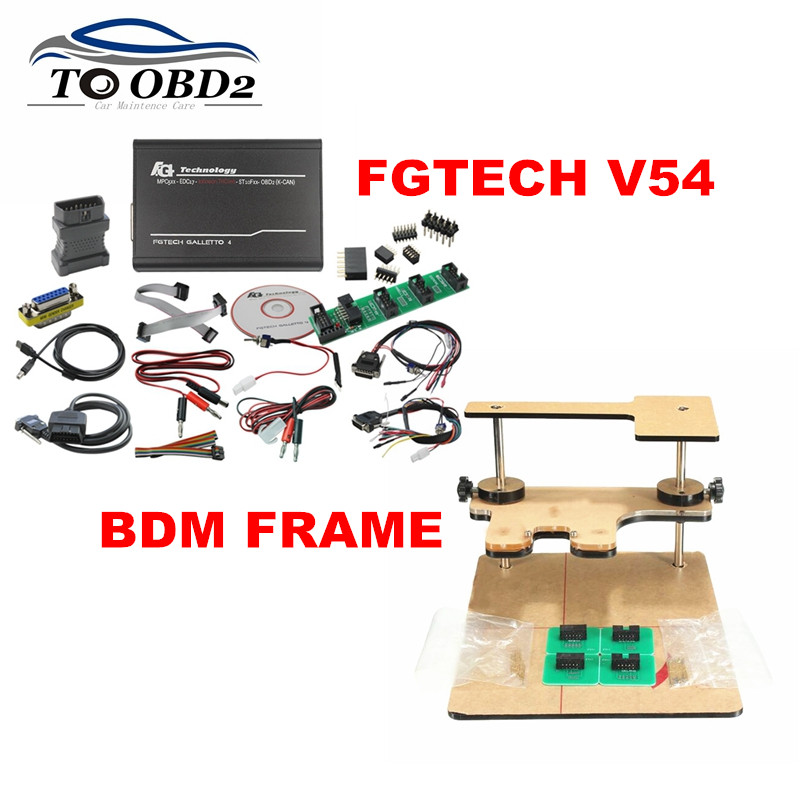 Galletto V54 0386 0475 FGTECH Add BDM Function TriCore OBD Function BDM Frame Full Adapters Best