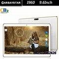 I960 carbaystar 9.6 polegada 4g lte android 5.1 comprimidos de computador inteligente android tablet pcs, Ram 4 GB Rom 64 GB Octa núcleo GPS MT8752