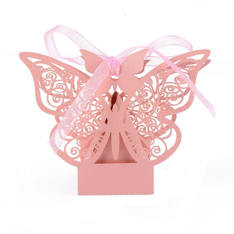 10 шт Бумага коробка конфет Свадебные Сувенирная Подарочная коробка шоколад коробка для гостей вечерние поставки Свадебные украшения