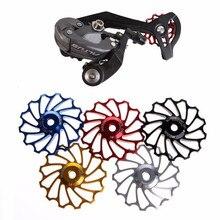 1 шт. 13 т MTB керамический подшипник Jockey колеса шкив дорожный велосипед задний переключатель подшипник из нержавеющей стали Прочный Велосипед#15