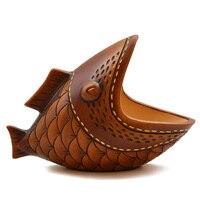Ceramic Decorative Fish Home Office Loft Decoration Wedding Birthday Gift Art Model Craft