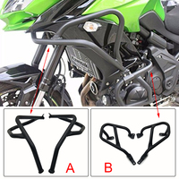 For Kawasaki Versys 650 2015 2016 Front Upper Engine Guard Highway Refit Tank Protection Crash Bar