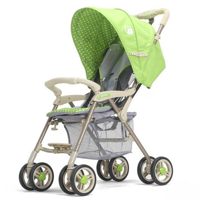 Light Weight Portable Baby Stroller Folding Stroller High Landscape Shockproof Baby Car Safety Strollers for baby