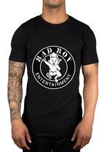 Puff Daddy Bad Boy Records Logo T-Shirt Biggie Coke Boys French Montana Diddy O-Neck T Shirt Men 2018 Newest Fashion