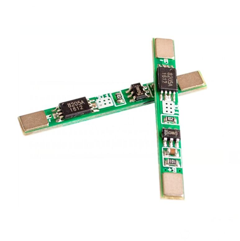 10PCS/LOT 1S 3.7V 3A Li-ion BMS PCM Battery Protection Board Pcm For 18650 Lithium Ion Li Battery
