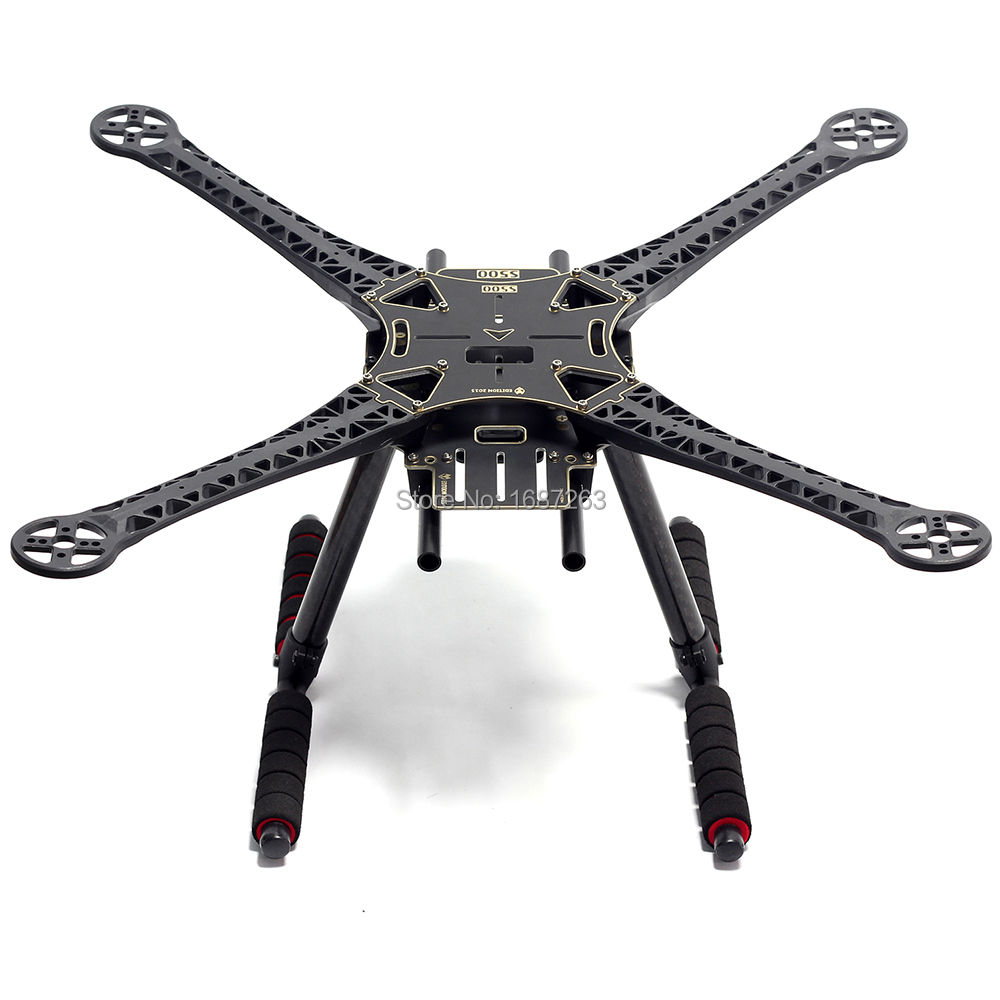S500 500mm PCB Version Quadcopter Frame Kit with Carbon Fiber Landing Gear for FPV Quad Gopro