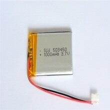 10 stücke Wiederaufladbare Li-Polymer-Lithium-Batterie 3,7 v Wiederaufladbare 1000 mah DIY Batterien Pack Für Smartwatch Lautsprecher Flugzeug Modell
