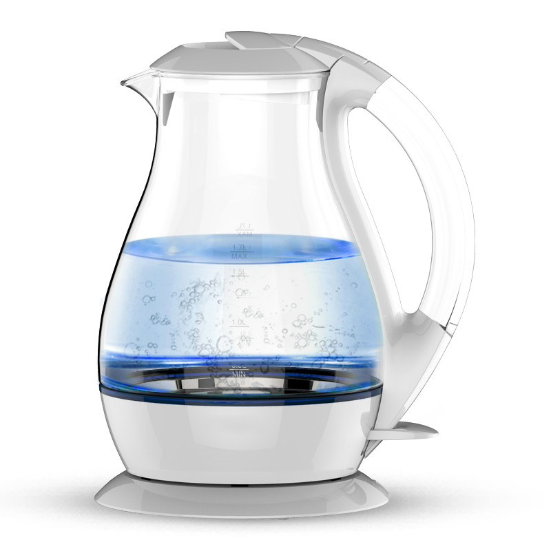 glass electric kettle 304 stainless steel large capacity home automatic power Safety Auto-Off Function цена и фото