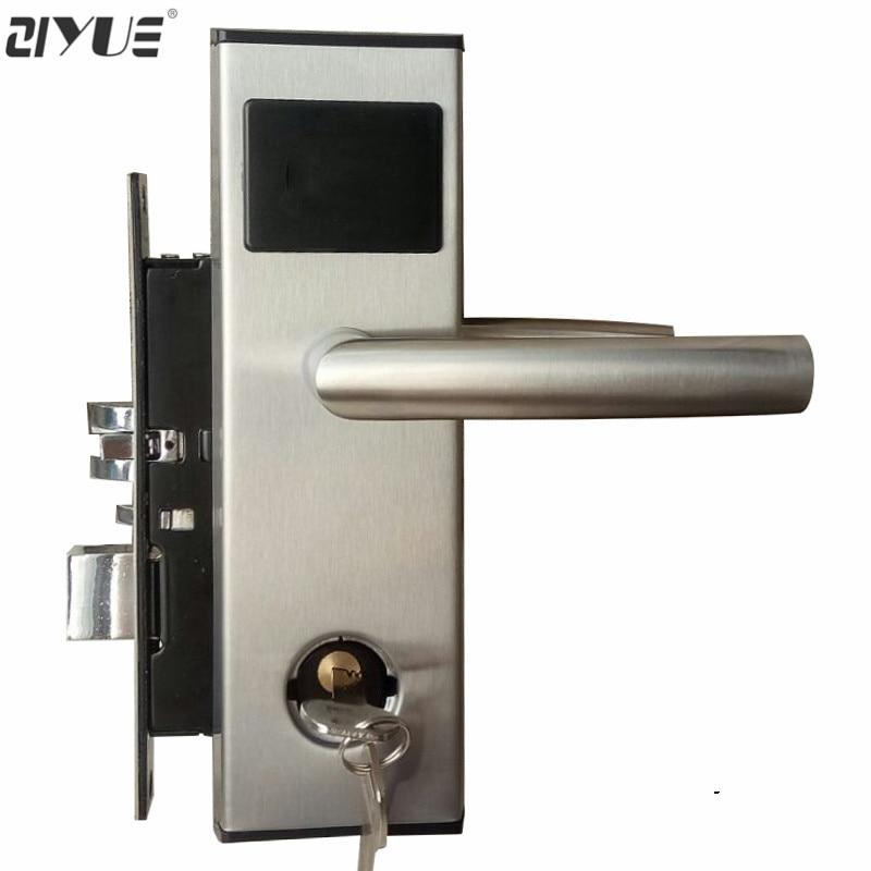Numérique ANSI 125 khz T5577 RF Carte RFID Lecteur de Clé Électronique Serrure De Porte De Carte D'hôtel ET100RF