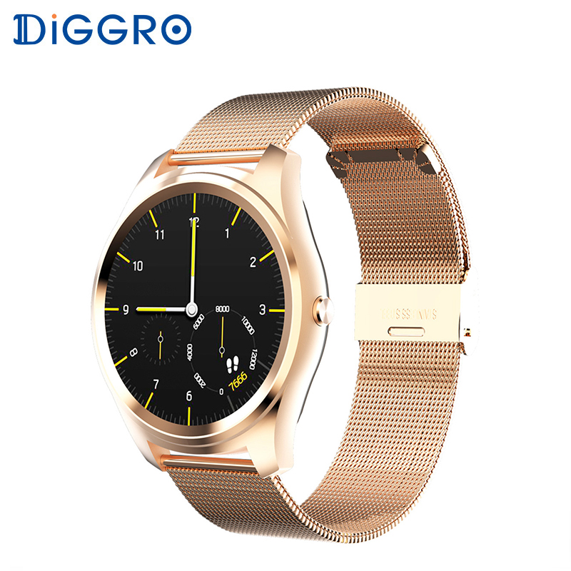 Diggro DI03 Waterproof Smart Watch Heart Rate MTK2502C IP67 Monitor Remote Control Camera Message Push Smartwatch IOS Android diggro di03 smart watch mtk2502c heart rate monitor pedometer sedentary remind sleep monitor notifications pushing page 1
