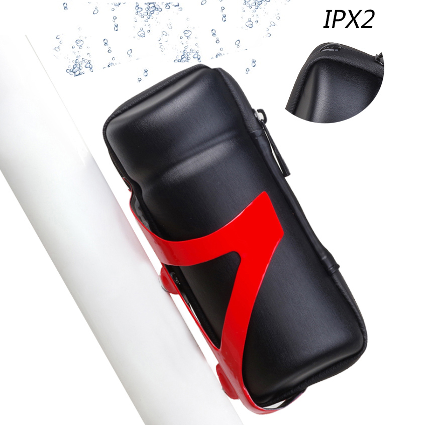 Nowy IPX2 Wodoodporny Repair Tool Boxes Okulary Portable Bike Storage Carry Case Kształt butelki Narzędzia rowerowe Torba Narzędzia rowerowe