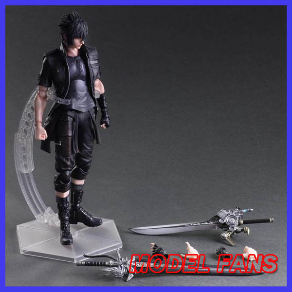 ФОТО MODEL FANS Play Arts Final Fantasy Figure Final Fantasy XV Noctis Lucis Caelum Figure PA 27cm PVC Action Figure