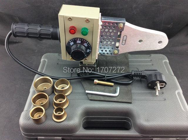 Envío gratuito herramientas de fontanero 20-32mm 220V 600W control de temperatura máquina de soldadura ppr, máquina de soldadura de pvc, soldador de plástico
