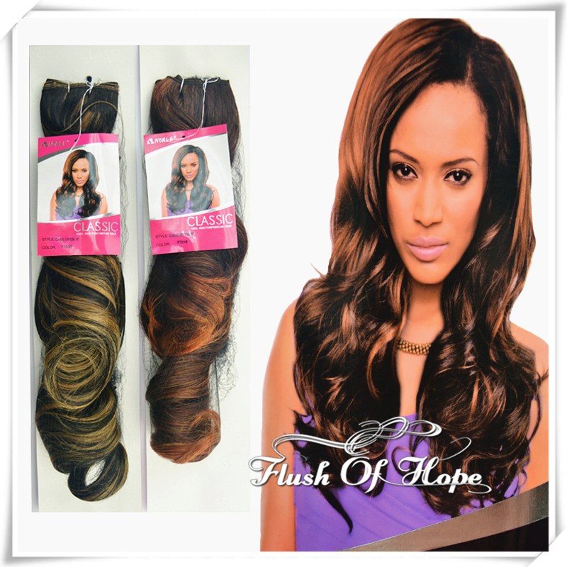 New noble classic crystal loose curl synthetic hair extensions new noble classic crystal loose curl synthetic hair extensions high temperature fiber ombre hair weave 6 packslot 18 f1b27 on aliexpress alibaba pmusecretfo Images