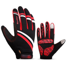 Motorcross Gloves Touch Screen Windproof Warm Fleece Lined Motorcycle Autumn Winter Motorbike Protective Guards