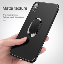 Luxury Ring Bracket Soft Silicone Phone Case For iP