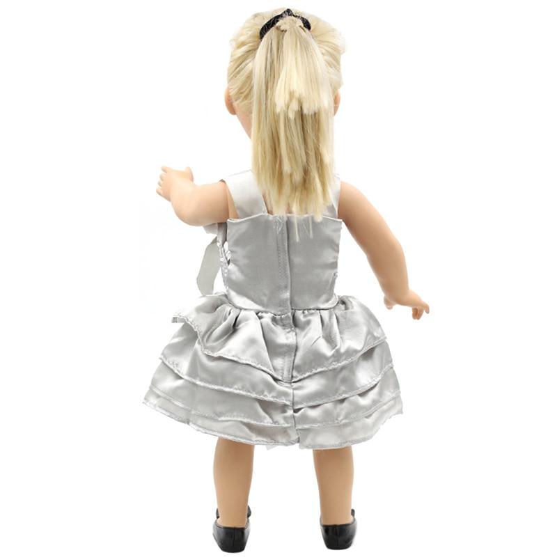 Mejor regalo de cumpleaños chica americana Muñecas ropa elegante ...