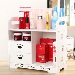 Cosmetic storage rack simple Korean drawer dressing table storage box large princess desktop makeup storage shelf