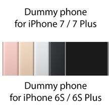 Dummy Phone For iPhone 7/ 7 Plus 1:1 Size Fake Metal Mould For iPhone 6/6s Plus Only For Display Non-Working Model